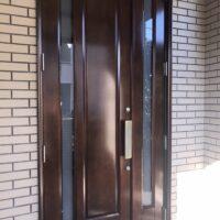 北区 M様 玄関ドア補修工事